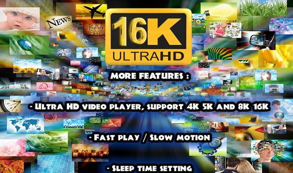 16k Ultra Hd Video Player (16k UHD) 2018 screenshot 2