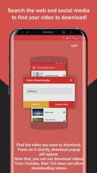 Free video downloader download videos fastly for android apk free video downloader download videos fastly poster ccuart Image collections