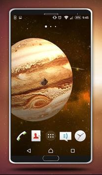 Jupiter Live Wallpaper poster
