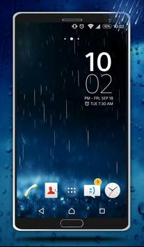 Rain Live Wallpaper poster