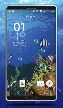Sea Bubbles Live Wallpaper screenshot 4