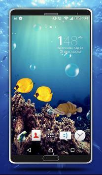 Sea Bubbles Live Wallpaper screenshot 5