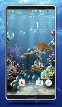 Sea Bubbles Live Wallpaper screenshot 8
