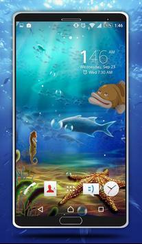 Sea Bubbles Live Wallpaper poster