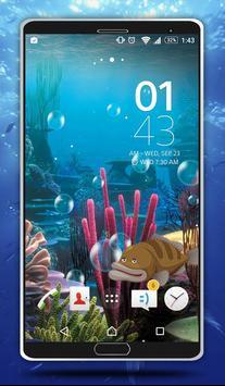 Sea Bubbles Live Wallpaper screenshot 1