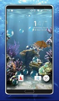 Sea Bubbles Live Wallpaper screenshot 2