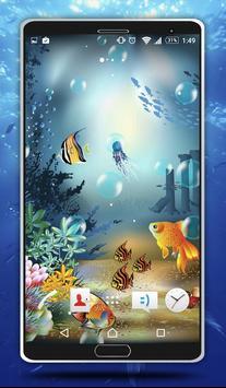 Sea Bubbles Live Wallpaper screenshot 3