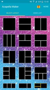 Acapella Maker - Video Collage poster