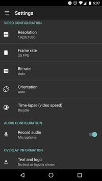 AZ Screen Recorder - No Root apk screenshot