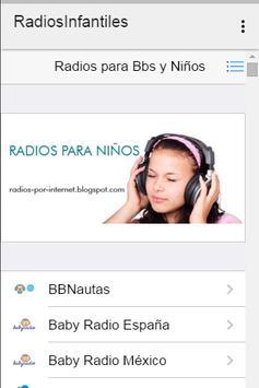 Radios Infantiles screenshot 1