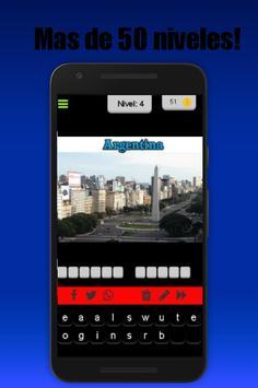 Adivina La Capital screenshot 1