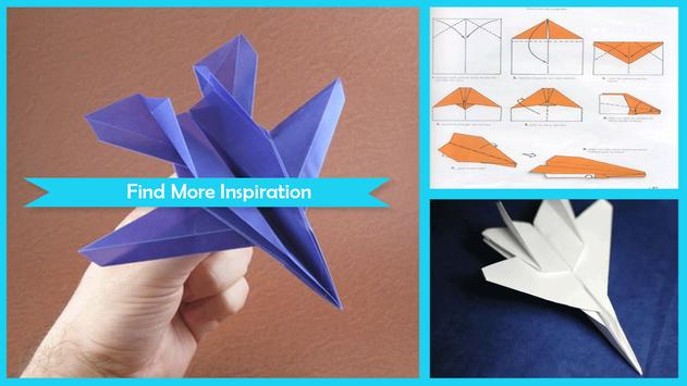 Origami Paper Planes Poster