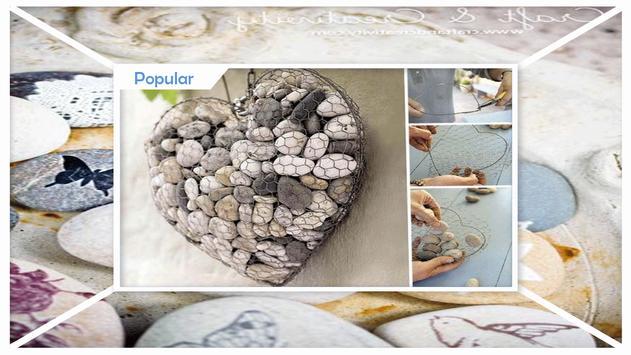 Pebble Craft Decoration Ideas poster