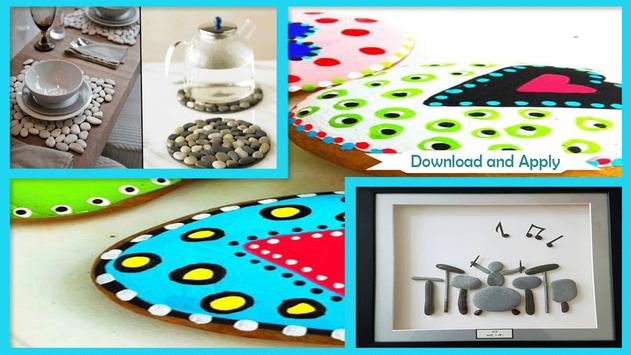 Pebble Craft Decoration Ideas screenshot 4
