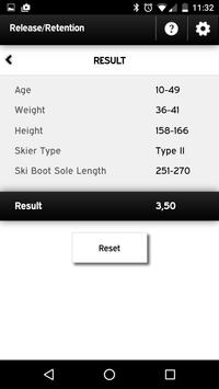 Head Tyrolia Calculator apk screenshot