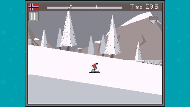 Retro Winter Sports 1986 screenshot 2