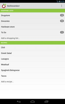 Our Groceries Shopping List screenshot 10