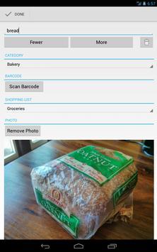 Our Groceries Shopping List apk screenshot