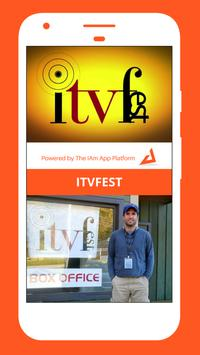 The IAm ITVFest App poster