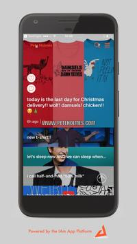 The IAm Pete Holmes App poster