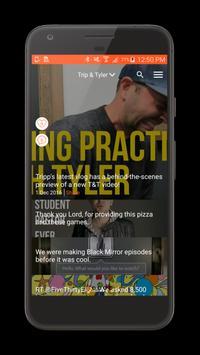 The IAm Tripp & Tyler App poster