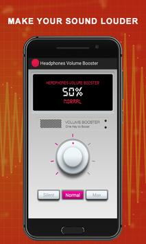 Headphones Volume Booster screenshot 1