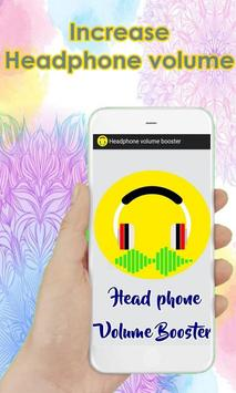Headphone volume booster poster