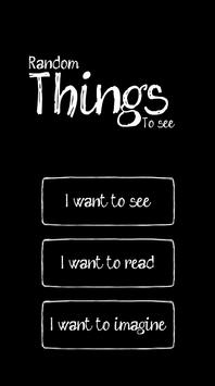 Random Things to See poster