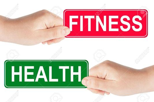HEALTH AND FITNESS 2018 poster