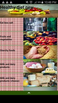 Healthy diet new poster
