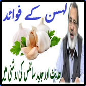 Lehsan Ke Fawaid Urdu Health icon