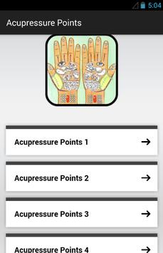 Acupressure Points poster
