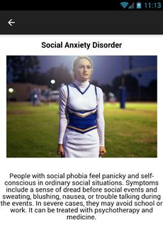 Anxiety Disorder Symptoms apk screenshot