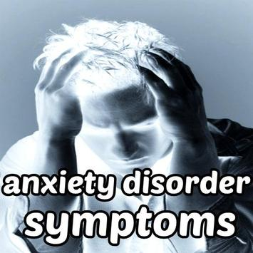 Anxiety Disorder Symptoms poster