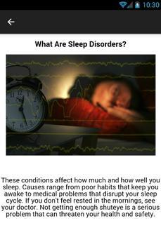 Narcolepsy Symptoms apk screenshot