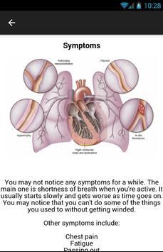 Pulmonary Hypertension Symptom apk screenshot