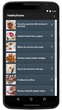 Healthy Snacks apk screenshot