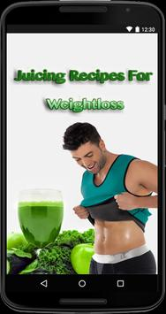 Juicing Recipes For Weight Loss poster
