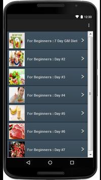 Gm Diet Guide screenshot 1