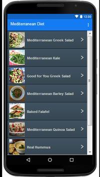 Mediterranean Diet screenshot 1