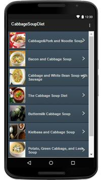 Cabbage Soup Diet apk screenshot
