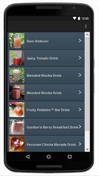 Drinks screenshot 1