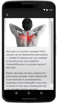 Neck Pain apk screenshot