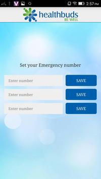 Healthbuds Medical Emergency apk screenshot
