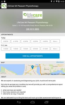 Lifecare Physiotherapy apk screenshot