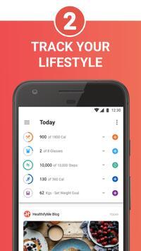 HealthifyMe: Home Workout, Weight Loss & Diet Plan apk स्क्रीनशॉट