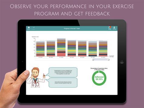 ReHand, Hand Rehabilitation App on the Tablet apk screenshot