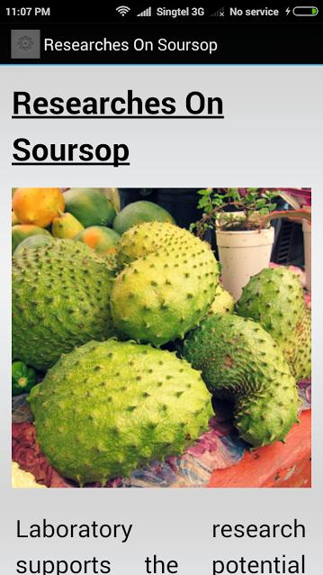 Health Benefit Of Soursop+Leaf for Android - APK Download