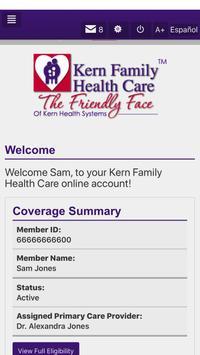 Kern Family Health Care LINK screenshot 1