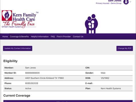 Kern Family Health Care LINK screenshot 7